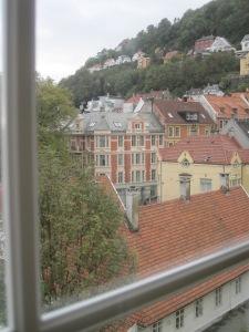 Utsikt från Grand Terminus i Bergen