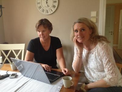 Birgitta Höglund och Lindha Vikström