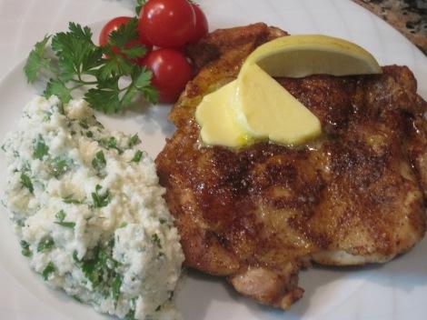Kryddig kycklingschnitzel