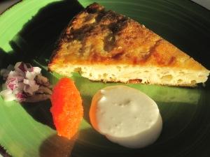 Gallina-kaka som förrätt