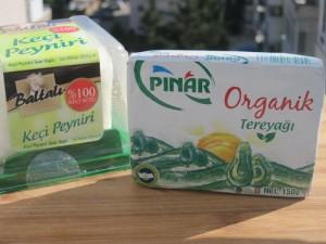 Getost och ekologiskt smör i Turkiet