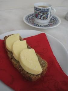 Kaffe och smörgås LCHF