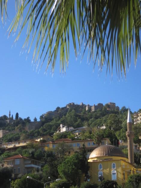 Moské med minaret