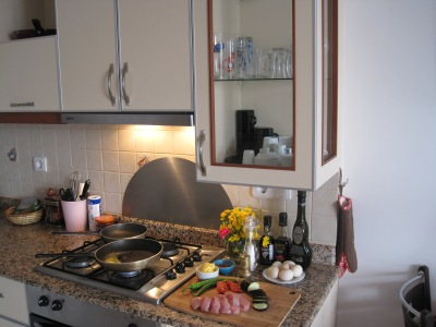 Vårt kök i Alanya