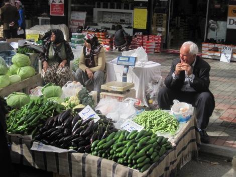 Turkisk grönsakshandlare