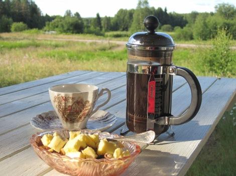 Nötfrukost i Dalarna