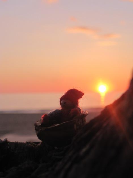 3e Advent bjöd på ett fantastiskt fint väder. Efter julmarknaden i hamnen var det skönt med lite lugn och ro i solnedgången på Kleopatrastranden...