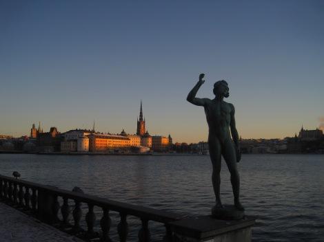 Utsikt över Stockholm från Stadshuset