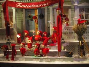 Julskyltningen på NK är alltid en sevärdhet