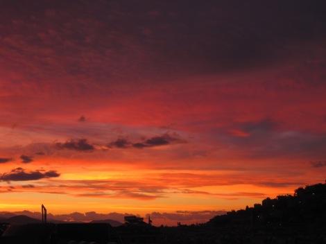 Soluppgång över Alanya