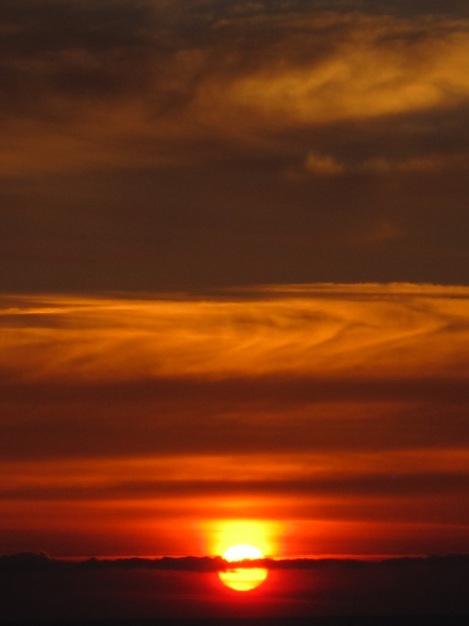 Solnedgång över Alanya