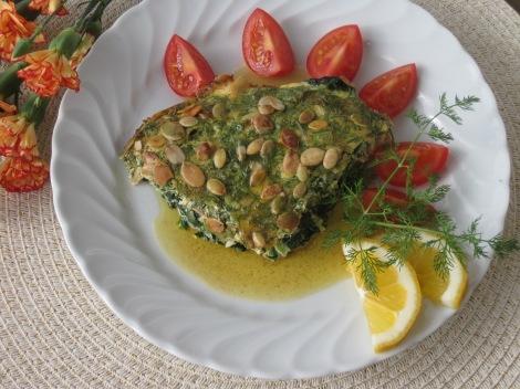 Fiskpudding med brynt smör