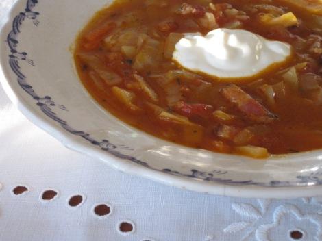 Regn och Rusk-soppa