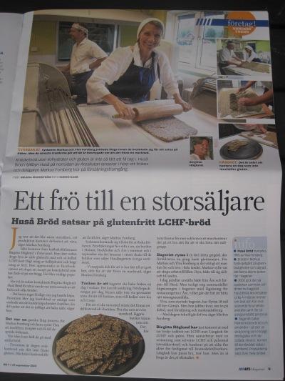 Om Spröda frökex från Huså Bröd