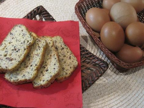 Äggbröd - Proteinbröd