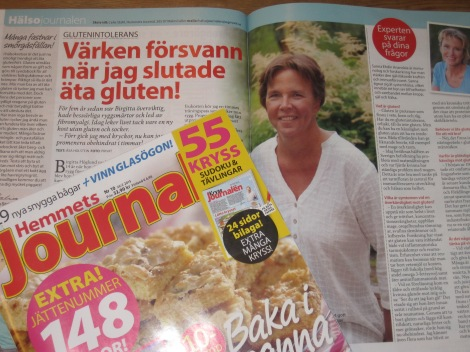Om min hälsoresa i Hemmets Journal