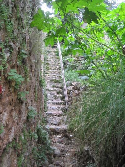 En sån här trappa var omöjlig för mig att gå i för bara några år sen...