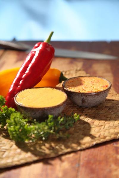 Café de Paris-smör och kryddsmör med fetaost från Grillmat LCHF Foto Mikael Eriksson