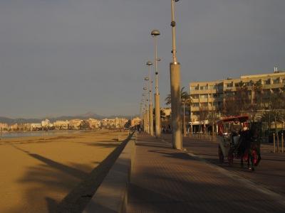 Morgonpromenad i Playa de Palma...