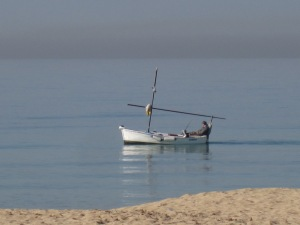 Fiskebåt i Playa de Palma...