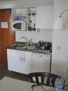 Köket i en Juniorsvit på Sunprime Palma Beach