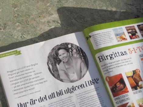 Om Birgitta Höglund i Matkärlek