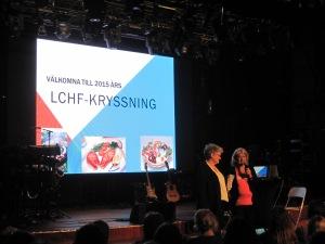 Margareta Lundström och Karin Eldh på LCHF-kryssningen