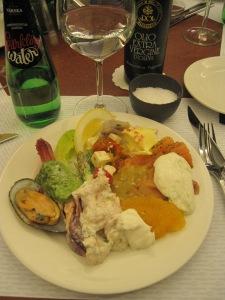 Njutbar LCHF-mat på kryssning