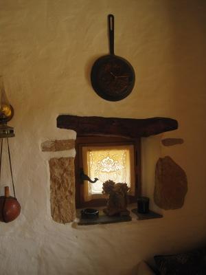 Interiör i köket på Stausa