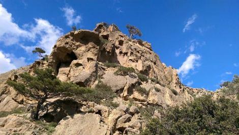 Bergsformationer på Kreta