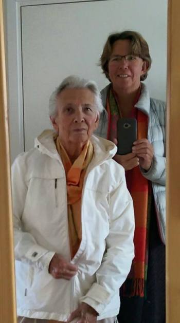Jag och min fina mamma...