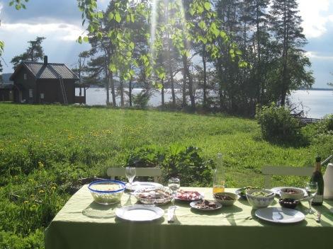 Sommarmiddag i Gåxsjö