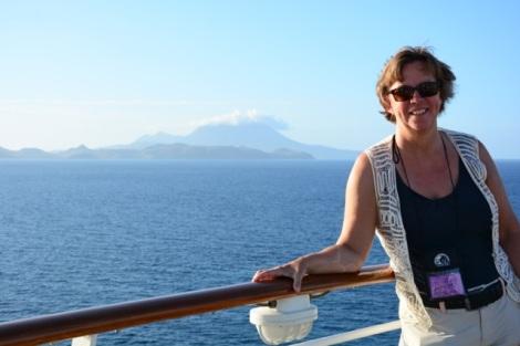 Jag i Karibien Foto Åsa Holstein