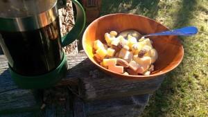 Min dagliga frukost...