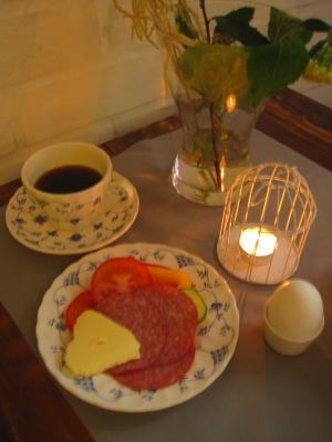 Frukost på Saltviks Bed & Breakfast