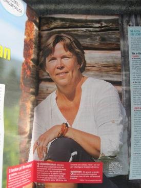 Birgitta Höglund i Året Runt