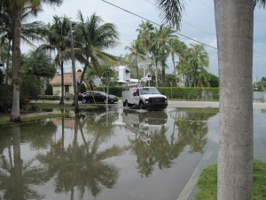 High tide in Fort Lauderdale