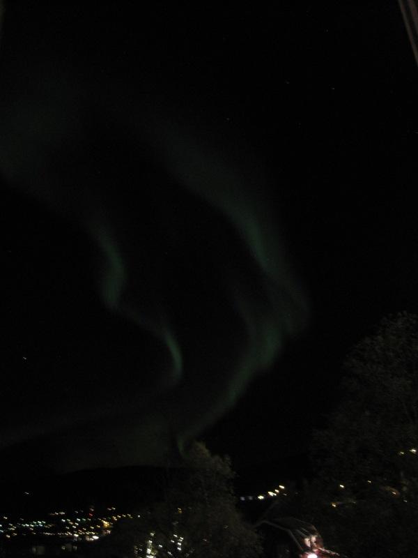 Norrsken över Åresjön