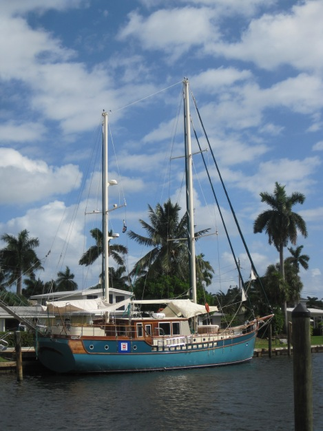Segelbåt i Fort Lauderdale
