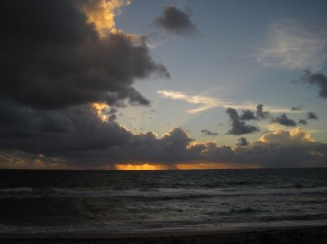 Tidig morgon vid Atlanten...
