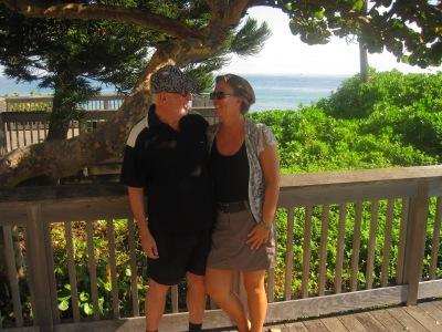 Jag och Lennart i Florida, foto Åsa Holstein