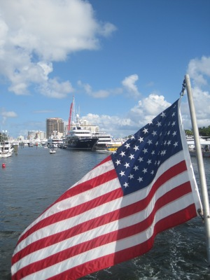 Stars and Stripes in Fort Lauderdale