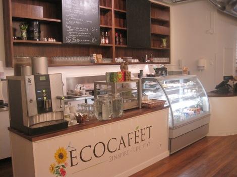 Ecocaféet i Östersund...