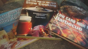 Mina kokböcker på engelska