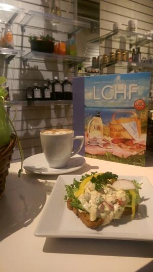 LCHF-fika på EcoCaféet i Östersund...