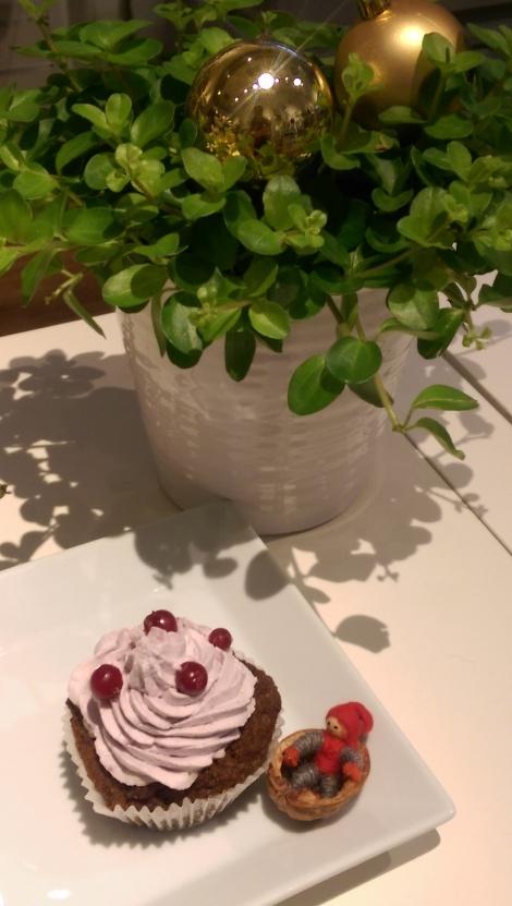 Pepparkaksmuffins Paleo på Ecocaféet i Östersund...