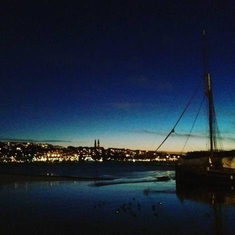 Kvällspromenad igår vid Norr Mälarstrand...