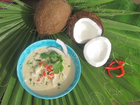 Thailändsk fisksoppa