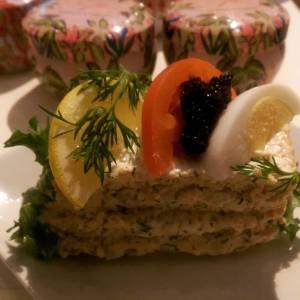 EcoCaféets smörgåstårta...