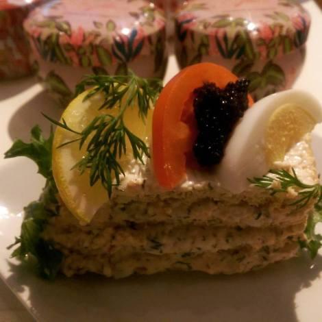 Ecocaféets smörgåstårta